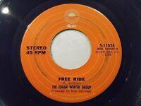 Edgar Winter Group Free Ride / When It Comes 45 1972 Epic Derringer Vinyl Record