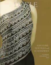 DOYLE Costume Jewelry Couture Balenciaga Chanel Hermes Auction catalog 2005