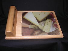Cheese Cutting Board with Accessories Knife, Fork, and Two Spreaders