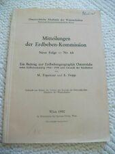 Mitteilungen der Erdbeben-Kommission. Neue Folge-Nr. 65. Erdbebengeographie...
