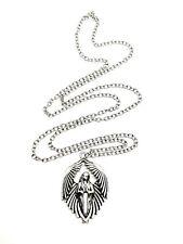 Angel St Michael Colgante Collar de Cadena con Alas Alas de protección soldados de amor