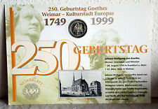 Vorzügliche Münzen aus Deutschland (ab 1945) mit berühmter Persönlichkeit