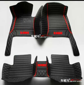 For 2003-2010-Hummer-H2-H3 luxury custom waterproof floor mats