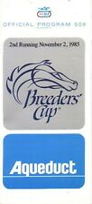 1985 - Breeders Cup @ Aqueduct Park program in MINT Condition