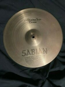 """14"""" Sabian AA Extra Thin Crash"""