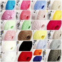 Sale 1 Ballsx50gr 100% Cotton Crochet Thread Yarn Craft Tatting Knit Embroidery