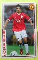 Cristiano RONALDO Manchester United 2006 Panini Double stickers  # 70 & 71