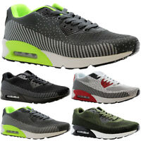 Mens Running Sports Trainers Fitness Gym Casual Boys Shock Absorbing  Shoes Size