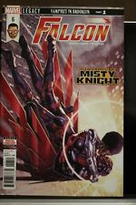 Falcon #6 First Print Marvel Comics (2018) Sam Wilson Misty Knight