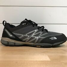The North Face Mens Ultra Kilowatt Trail Shoes 10.5 Black Gray