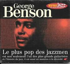 CD DIGIPACK COMPIL 14 TITRES--GEORGE BENSON--LE PLUS POP DES JAZZMEN...