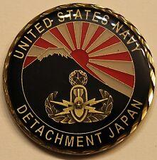 Explosive Ordnance Disposal EOD DET Japan Navy Challenge Coin
