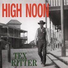 TEX RITTER - HIGH NOON [1-CD] NEW CD
