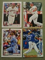 2020 baseball card lot of 1,032 different Topps, Chrome, Archives, Bowman ++