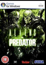 "ALIENS vs PREDATOR ""INTENSELY TERRIFYING STUFF"".HUNTER, SURVIVOR, PREY. NEW PC"