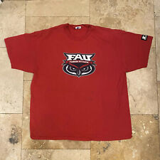 Vintage Florida Atlantic University FAU College T-Shirt 90s Size XL Starter Owls