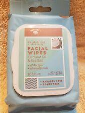 Bolero Facial Wipes Coconut oil & Sea Salt 30 Count