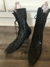 Antique Lace-up Boots / Shoes circa 1900 by 