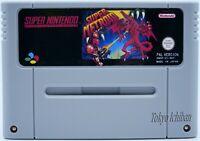 Super Nintendo SNES - Super Metroid - Pal Fr / Reproduction