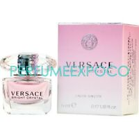 Versace Bright Crystal Perfume for WOMEN 5ml EDT Mini/Sample/Travel Size (C68