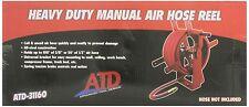 Atd Tools Atd 31160 Heavy Duty Manual Air Hose Reel