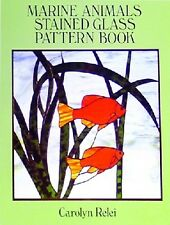 Stained Glass Pattern Book - MARINE ANIMAL PATTERNS