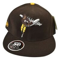 Stall & Dean New York Brown Bombers Football Fitted Hat Cap Pick Size