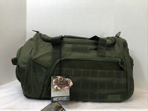 Highland Tactical Squad 1.0 Molle Webbing America Flag Duffle Bag New With Tags!
