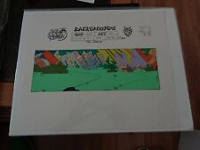 Taz-Mania Animated Series Original Animation Hand Painted Background Model Cel B