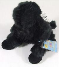 Webkinz Ganz Black Poodle Dog Plush Stuffed Animal with tag/code New