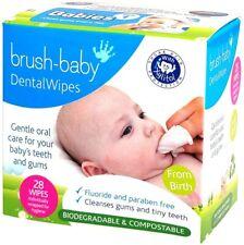 Brush-Baby Dental Wipes - 28 Wipes