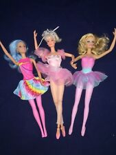 Ballerina Barbie Doll Lot articulated