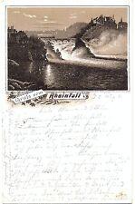 Rheinfall, Vorläufer-AK, 1891