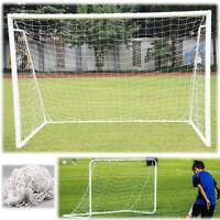 6x4FT Football Soccer Goal Post Net Sports Training Practise Kids Portable