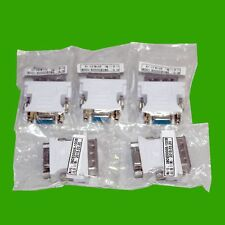5 Stück Adapter DVI-I (24+5) Stecker - VGA (15 plg. SUB D) Buchse Monitoradapter