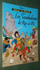 JOHAN et PIRLOUIT : Les Troubadours de Roc-à-Pic - Ed. publicitaire Shell 2000