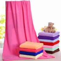 Soft Washcloth Cotton Bath Towels Bath Sheets Beach Towels Microfiber 70x140cm