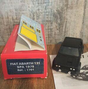 Fiat Abarth 131 Spa 1979 Solido2 Édition Limitée. Manque 1 Rabas