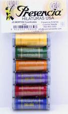 Thread Set ~ COTTON THREAD SAMPLER PACK - JEWEL ~ by Presencia