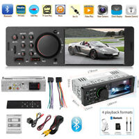 "1DIN 4,1"" TFT Autoradio MP5 Player FM Radio Bluetooth USB AUX mit Fernbedienung"
