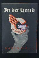 alter Druck Werbung GÖRICKE in der Hand haben Sie Fahrrad Katalog old vintage