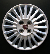 "Fiat Grande Punto 15"" Style One Wheel Trim Hub Cap Cover  FT 729 AT Red"