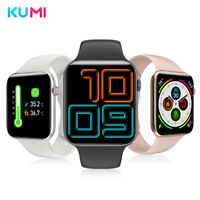 KUMI AirPro Smart Watch Body Temperature Waterproof APP for Huawei iPhone