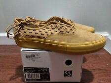Brand new Vans Syndicate Wtaps Yellow Wings Authentic S Size 10.5 Golf Wang