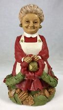 "Tom Clark Gnome Mrs Santa Claus #5419 Edition #51 Cairn Studios 9.5"" Christmas"