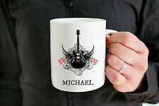 Personalized Guitar Player Mug Custom Guitar Player Gifts Guitar Gifts For Him