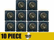 "10 Pieces 1"" 4 Bolt Flange Bearing, UCF205-16 UCF205"