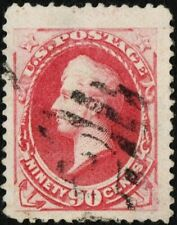 "US # 191 USED { MONSTER -XF- JUMBO } ""SCARCE 90c PERRY SOFT POROUS PAPER CV$ 350"