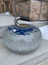 Vintage Granite Curling Stone Curling Rock Scotties