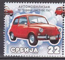 SERBIA 2010 **MNH  SC#  Motoring - 55 years of Fiat 600